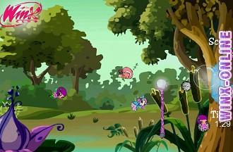 игра винкс приключения блум в лесу